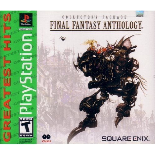 Final Fantasy Anthology (Greatest Hits) (Damage package case)