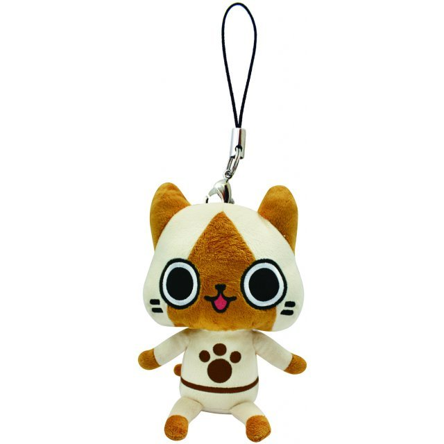 Monster Hunter Monster Mini Mascot Plush: Airou