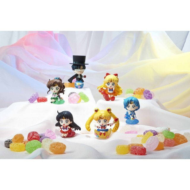 Petit Chara Land Sailor Moon Makeup by Candy! (Set of 6 pieces)
