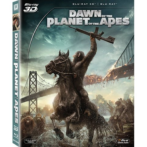 Dawn Of The Planet Of The Apes [2D+3D]