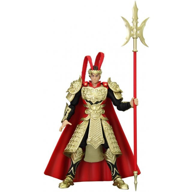 Legends of the Three Kingdoms Action Figure: Ryukon Lu Bu Limited Edition