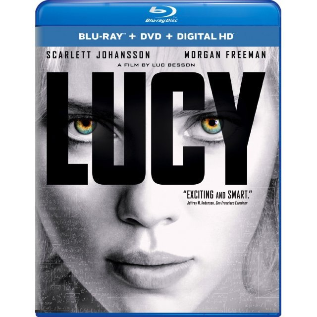 Lucy [Blu-ray+DVD+UltraViolet+Digital HD]