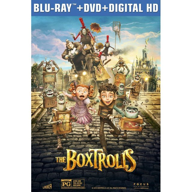 The Boxtrolls [Blu-ray+DVD+Digital Copy]