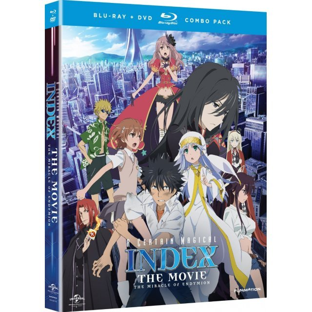 A Certain Magical Index The Movie: The Miracle Of Endymion [Blu-ray+DVD]