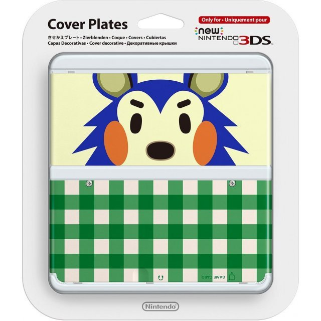 New Nintendo 3DS Cover Plates No.015 (Animal Crossing Kinuyo) Damage package