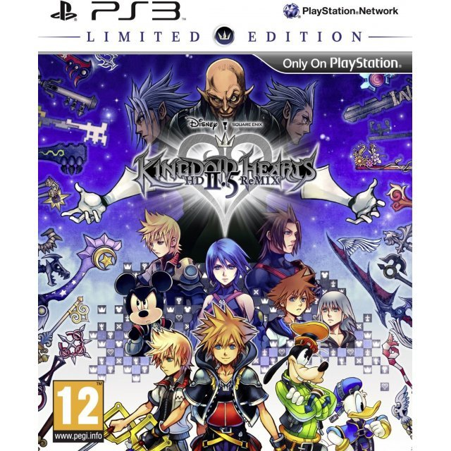 Kingdom Hearts HD 2.5 ReMIX [Limited Edition]