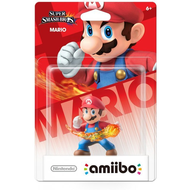 amiibo Super Smash Bros. Series Figure (Mario)
