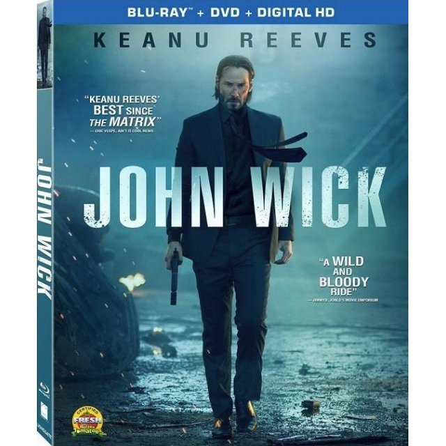 John Wick [Blu-ray+DVD+Digital Copy]