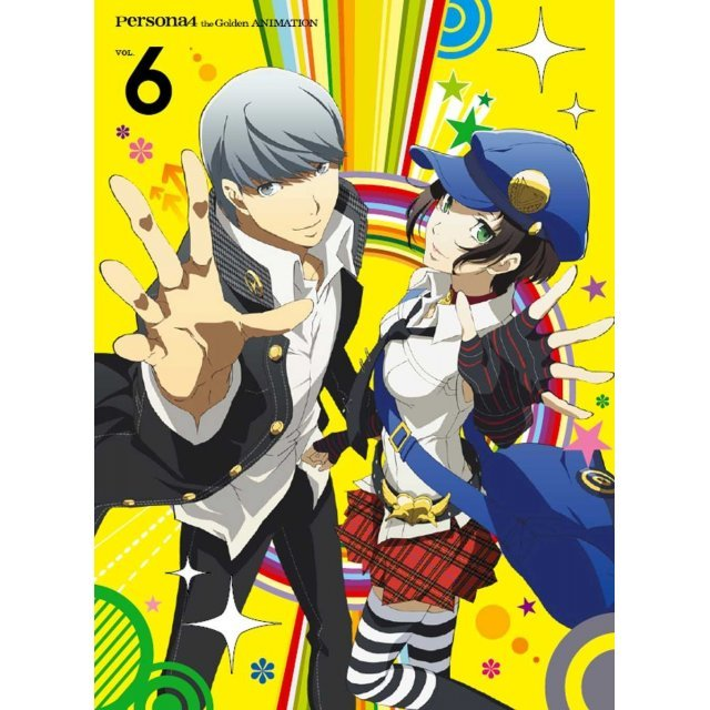 Persona4 The Golden Vol.6 [Blu-ray+CD Limited Edition]