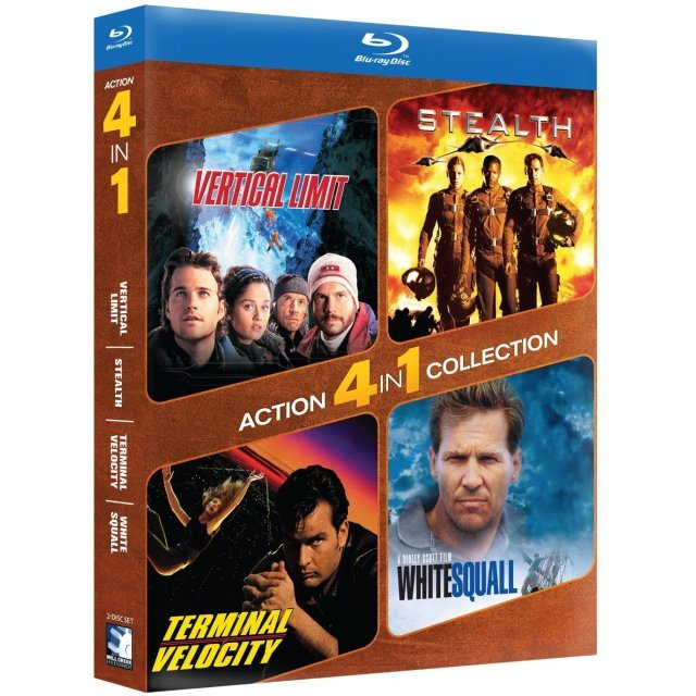 4-Pack Action: Vertical Limit / Stealth / Terminal Velocity / White Squall