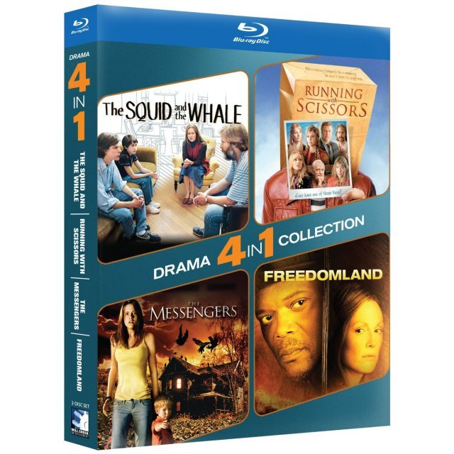 4-Pack Drama: The Squid and the Whale / Running with Scissors / The Messengers / Freedomland