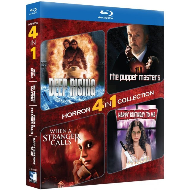 4-Pack Horror: Deep Rising / The Puppet Masters / When a Stranger Calls / Happy Birthday to Me
