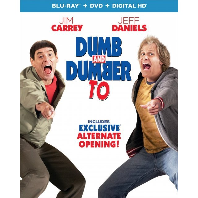 Dumb and Dumber To [Blu-ray+DVD+UltraViolet]