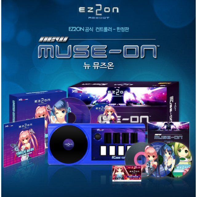EZ2ON New Muse-On Controller [Limited Edition]