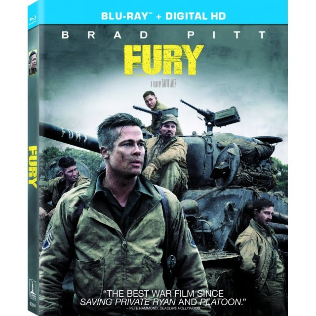 Fury [Blu-ray+Digital HD]
