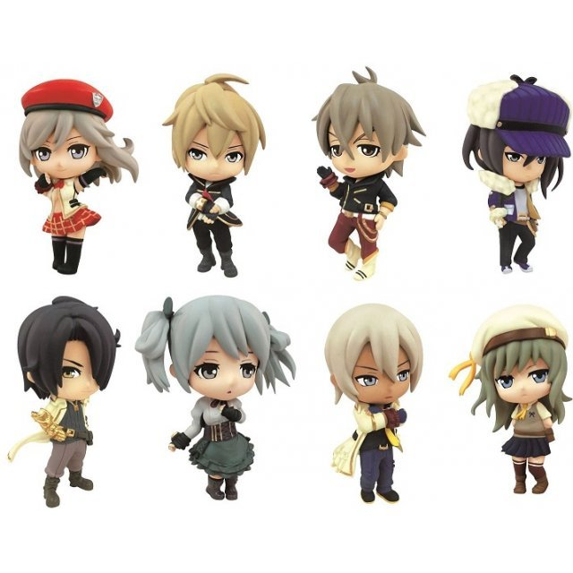 God Eater 2 Grand Ani-Chara Heroes (Set of 9 pieces)