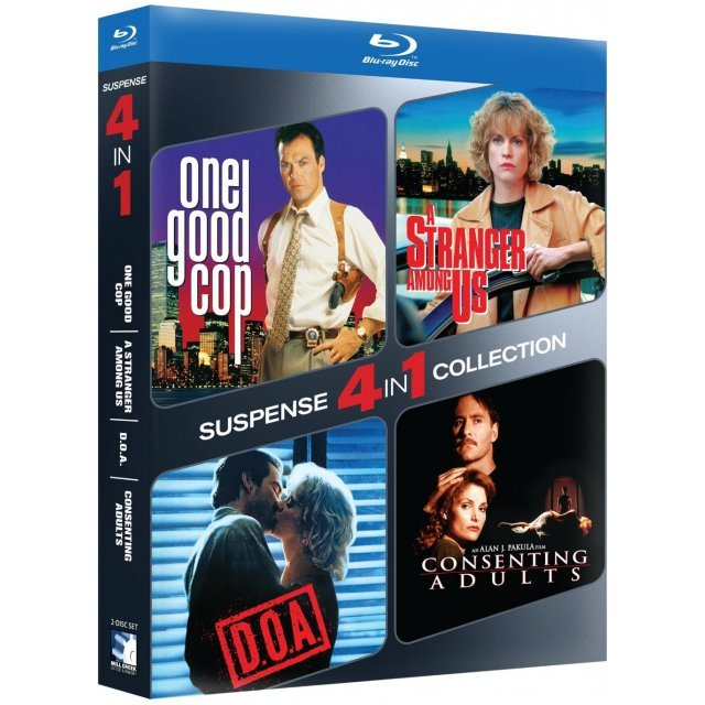 4-Pack Suspense: One Good Cop / A Stranger Among Us / D.O.A. / Consenting Adults