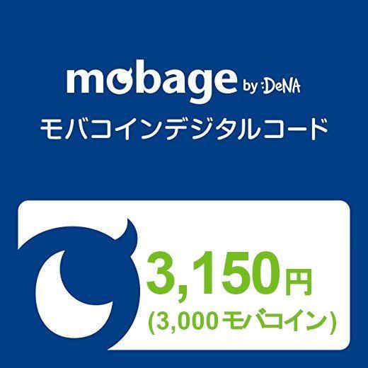 Mobage Prepaid Card (3150 Yen / 3000 Moba Coins)