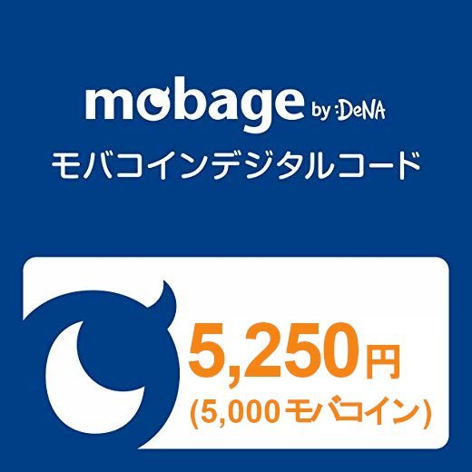 Mobage Prepaid Card (5000 Moba Coins)