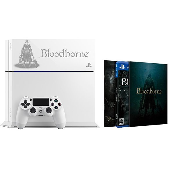 PlayStation 4 System [Bloodborne Limited Edition] (Glacier White)