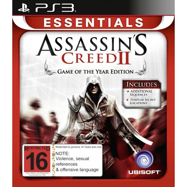 Assassin's Creed II: Game of the Year Edition (Essentials)