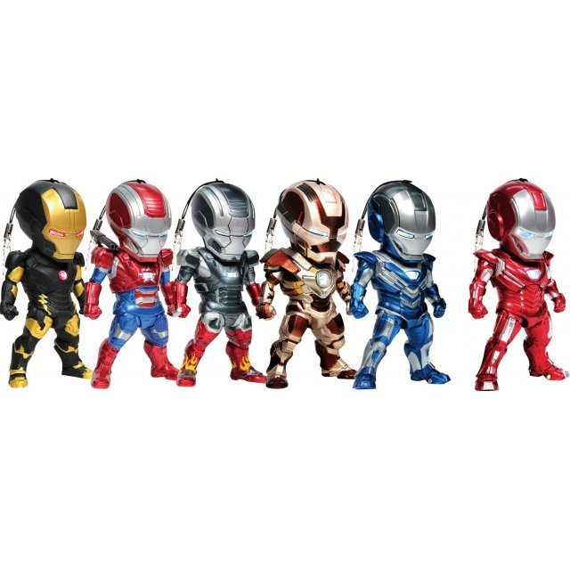 Iron Man 3 Kids Nation Series 004: Earphone Jack Accessories (Set of 6 pieces)