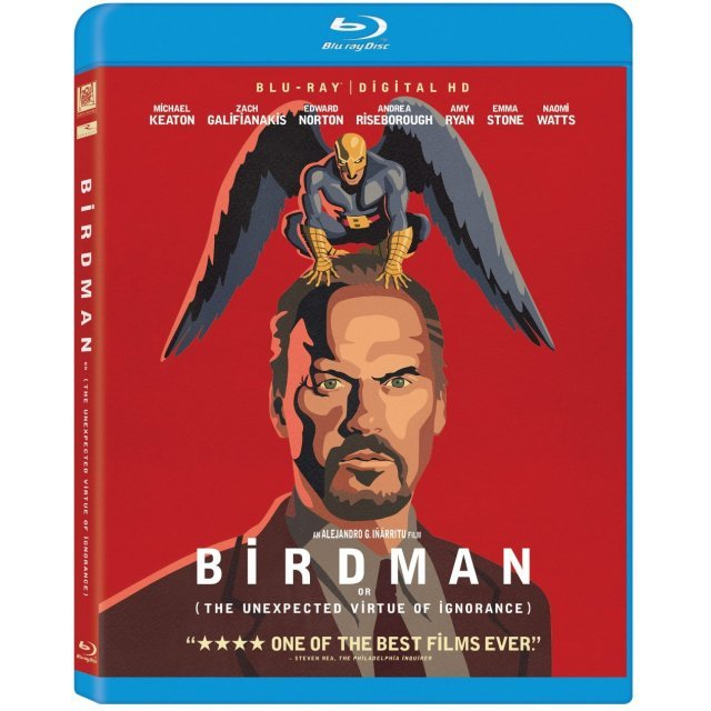Birdman [Blu-ray+Digital Copy+UltraViolet]