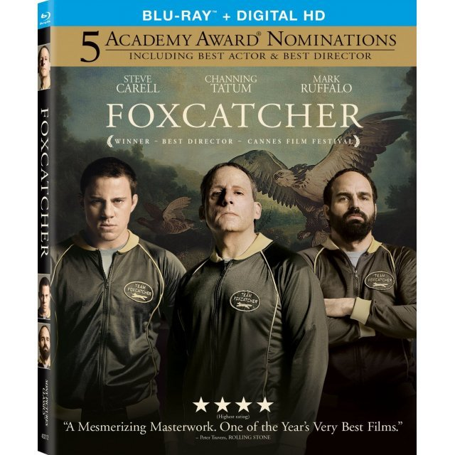 Foxcatcher [Blu-ray+Digital Copy+UltraViolet]