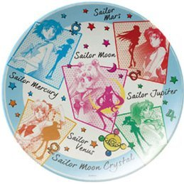 Sailor Moon Crystal Melamine Plate: 04 Sailor Soldiers Group MLP