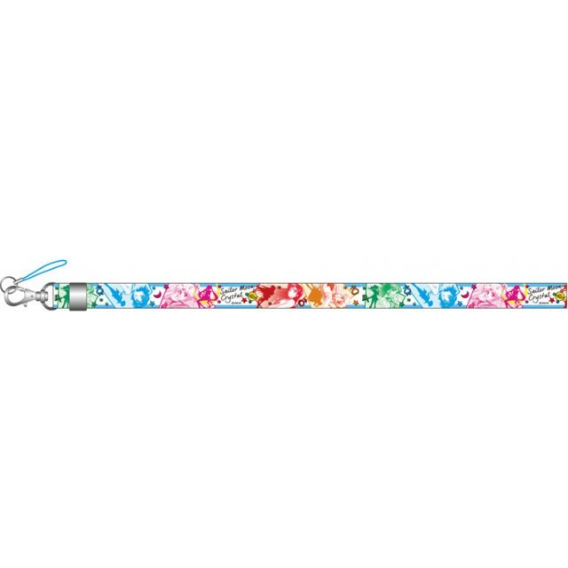 Sailor Moon Crystal Neck Strap: 04 Sailor Warrior Assembly NS