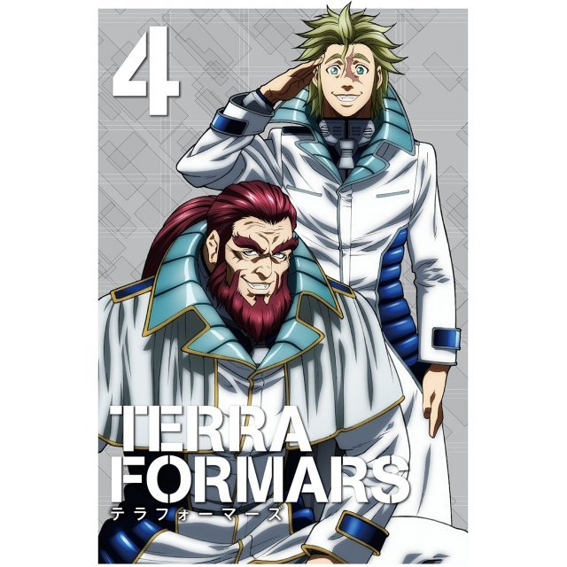 Terraformars Vol.4 [DVD+CD Limited Edition]