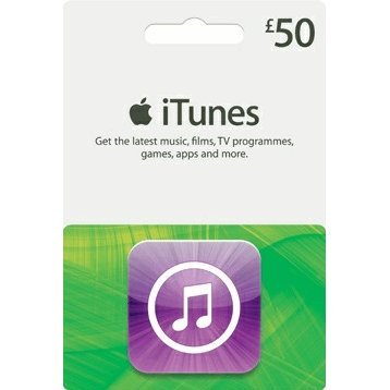 iTunes Card (GBP 50 / for UK accounts only)
