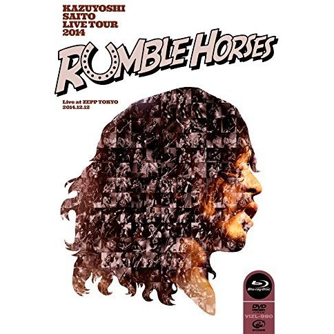 Kazuyoshi Saito Live Tour 2014 - Rumble Horses Live At Zepp Tokyo 2014.12.12 [Blu-ray+DVD Limited Edition]