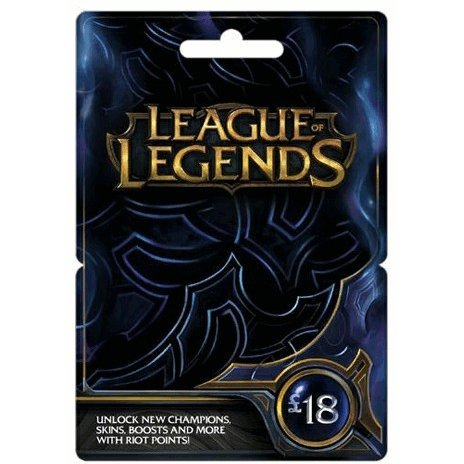 League of Legends Game Card (GBP 18)