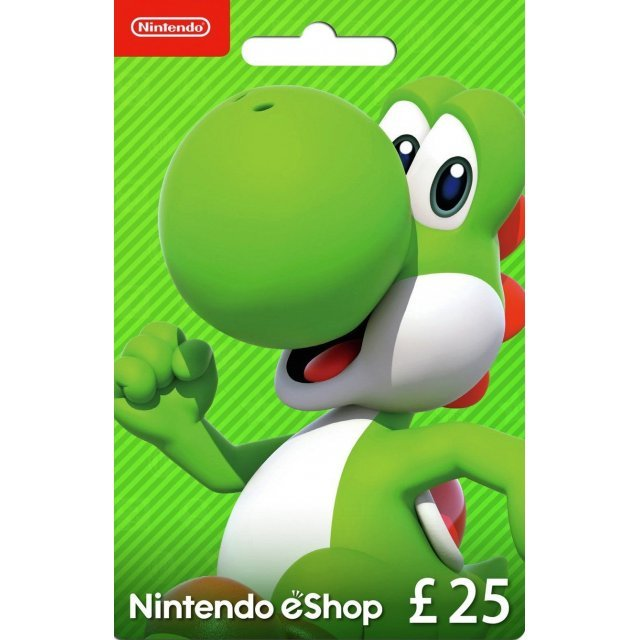 Nintendo eShop Card 25 GBP | UK Account