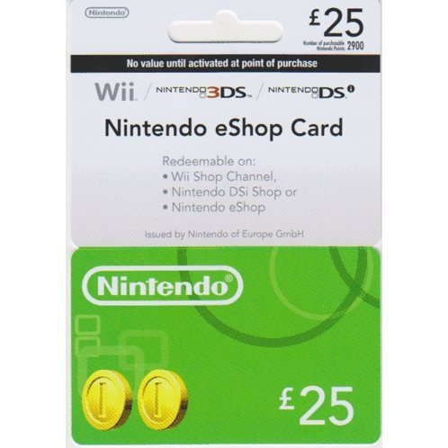 Nintendo eShop Card 25 GBP | UK Account