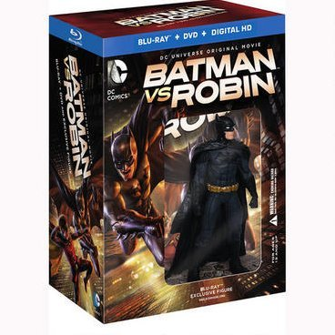 Batman vs. Robin Deluxe Edition w/ Figurine (Giftset)