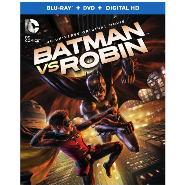 DC Universe Original Movie: Batman Vs Robin [Blu-ray+DVD +UltraViolet]