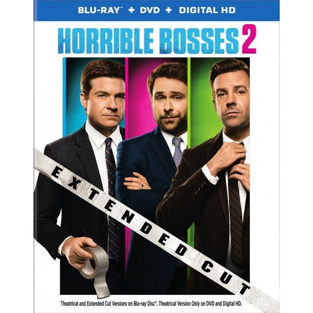 Horrible Bosses 2: Extended Cut [Blu-ray+DVD+UltraViolet]