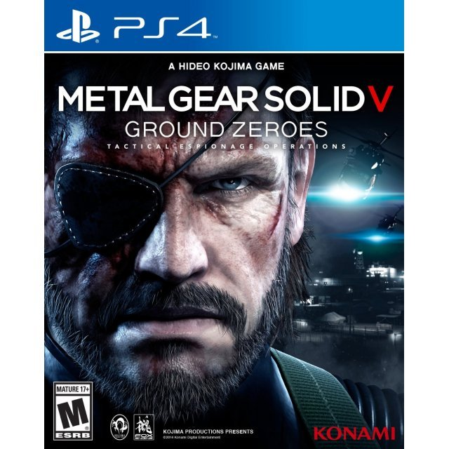 Metal Gear Solid V: Ground Zeroes (Package damaged)