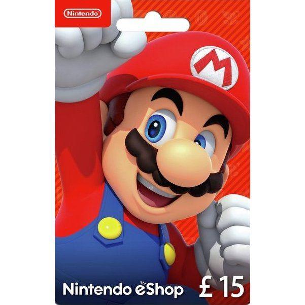 Nintendo eShop Card 15 GBP | UK Account