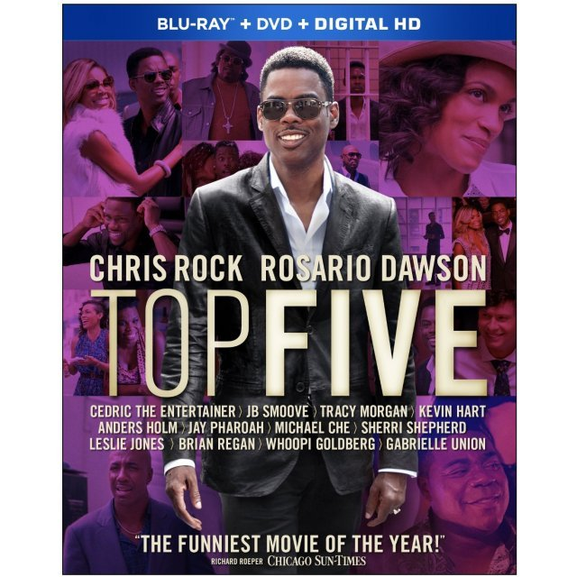 Top Five [Blu-ray+DVD+Digital Copy]