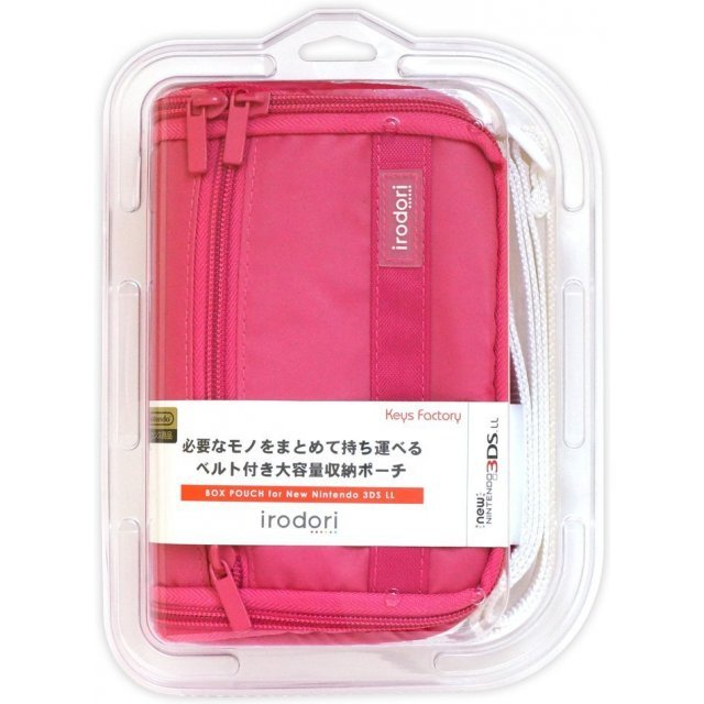 Box Pouch for New 3DS LL (Pink)