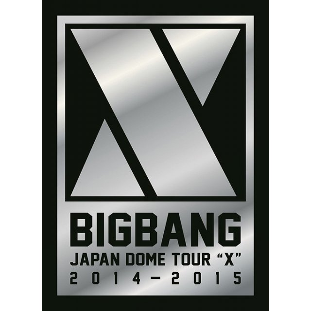 Bigbang Japan Dome Tour 2014-2015 - X (Deluxe Edition) [3DVD+2CD+Photo Book Limited Edition Type A]