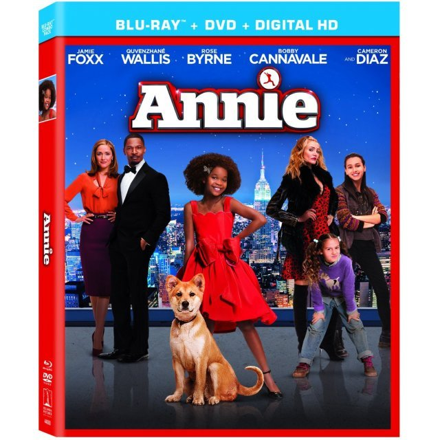 Annie [Blu-ray+DVD+Digital HD]