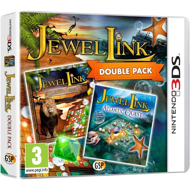 Jewel Link Double Pack: Safari Quest and Atlantic Quest