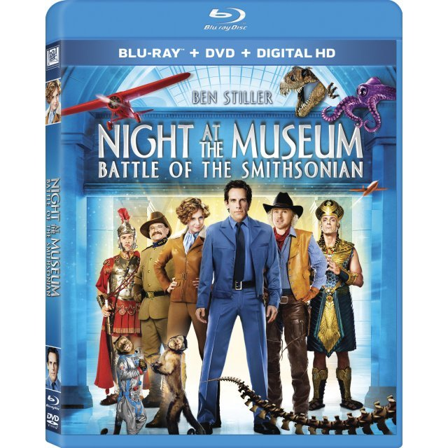 Night at the Museum: Battle of the Smithsonian [Blu-ray+DVD+Digital Copy+UltraViolet]