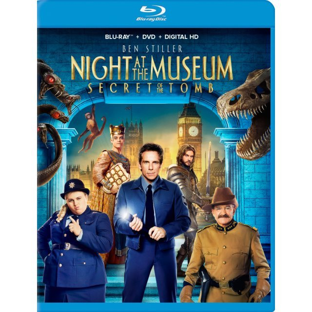 Night at the Museum: Secret of the Tomb [Blu-ray+DVD+UltraViolet]