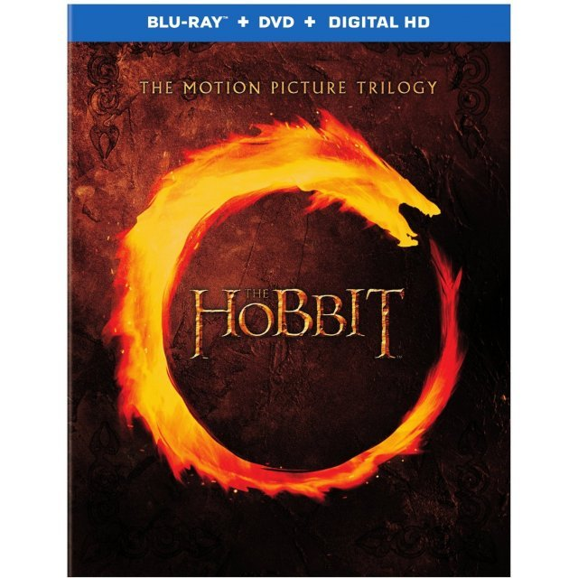 The Hobbit: The Motion Picture Trilogy [Blu-ray+DVD+UltraViolet]