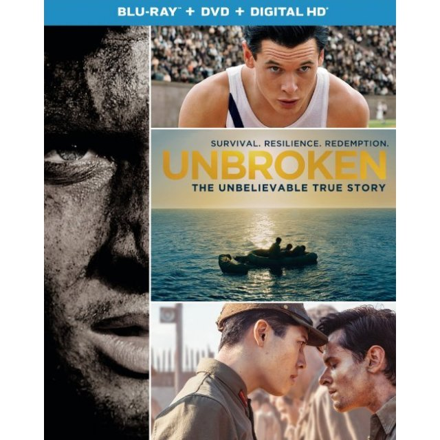 Unbroken [Blu-ray+DVD+Digital Copy+UltraViolet]